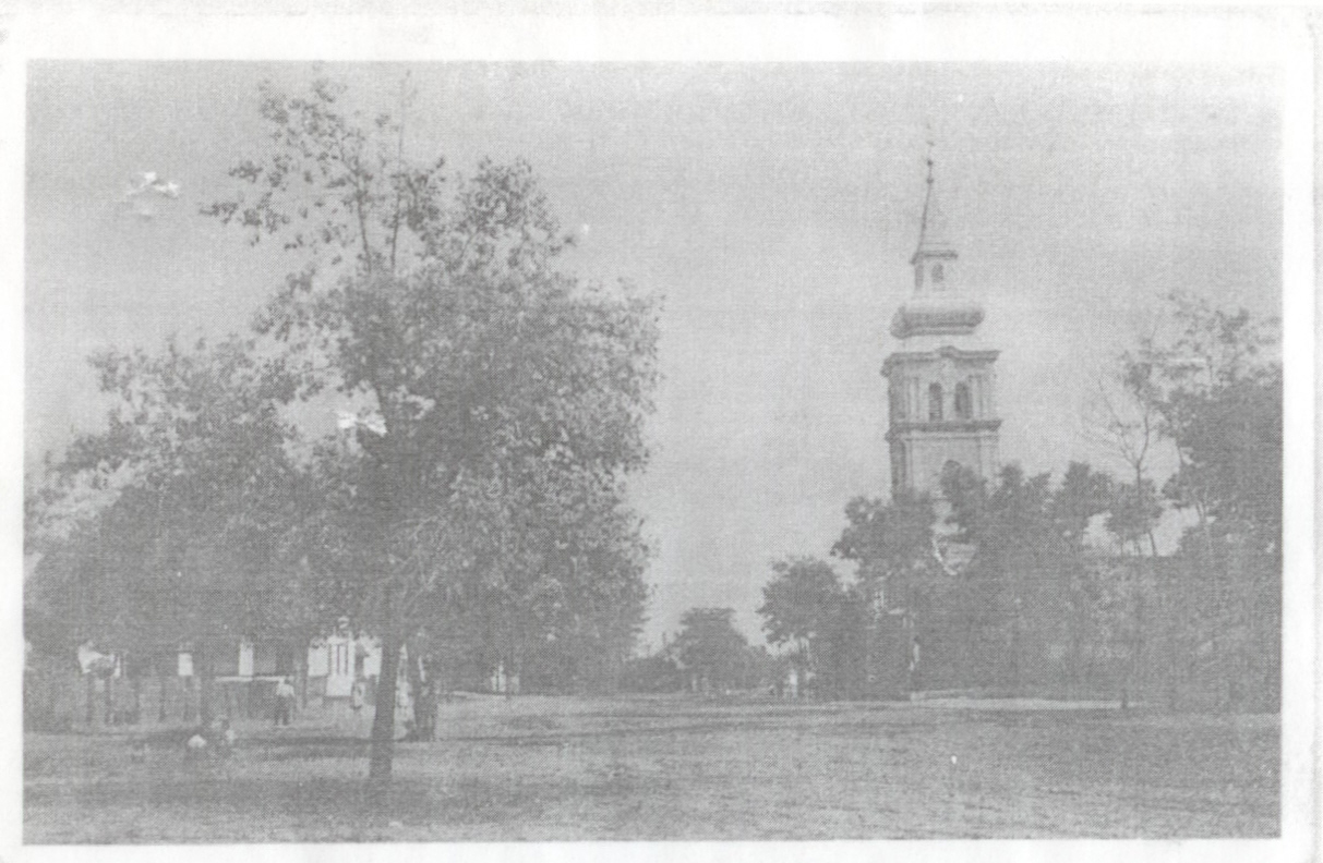 A református templom 1944. előtt.