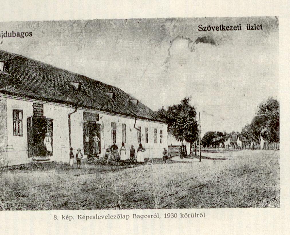 A nagybolt  1930 körül.