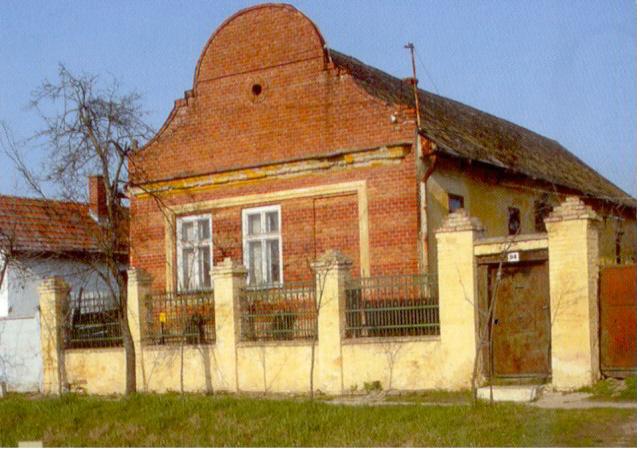 Parasztbarokk lakóház a Nagy utcán.