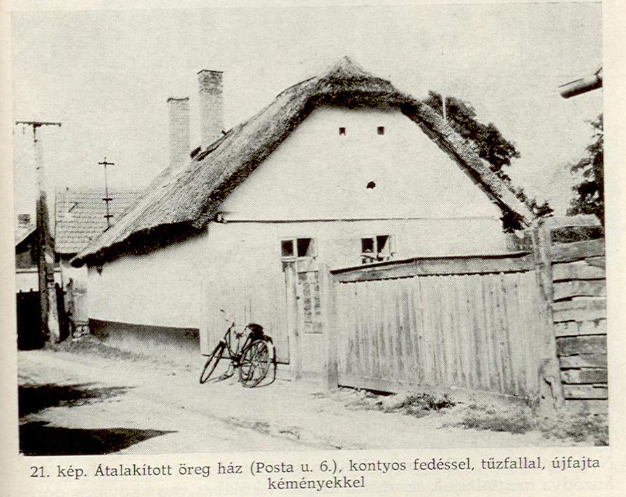 Régi lakóház a Posta utcán, már lebontották.